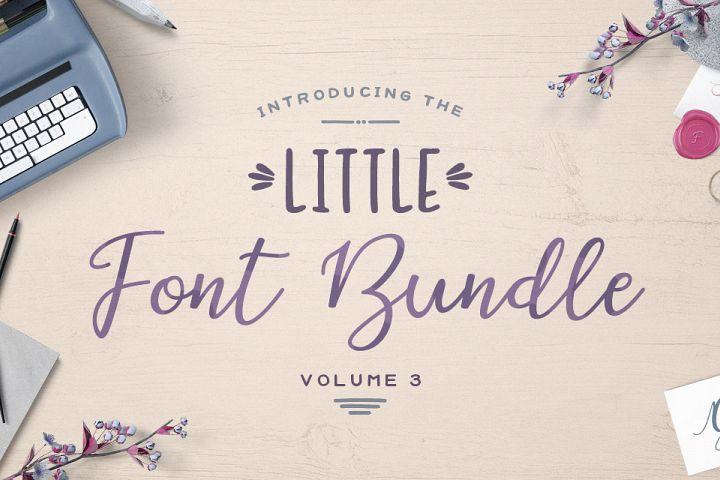 The Little Font Bundle Volume III Free Download