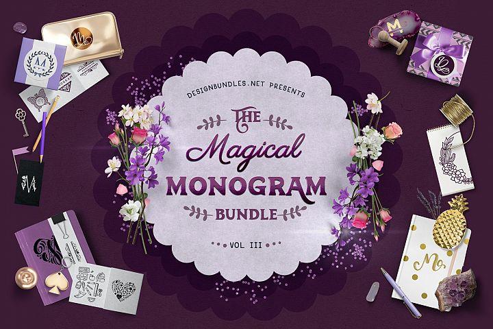 The Magical Monogram Bundle III