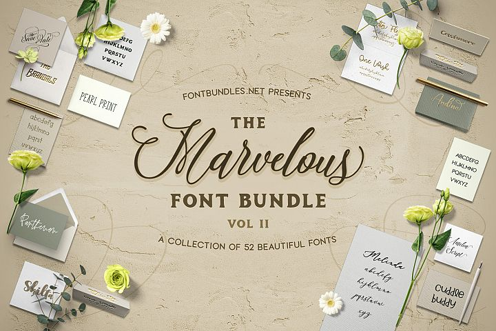 The Marvelous Font Bundle II Free Download