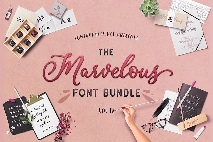 The Marvelous Font Bundle IV