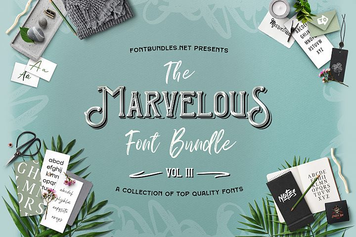 The Marvelous Font Bundle III