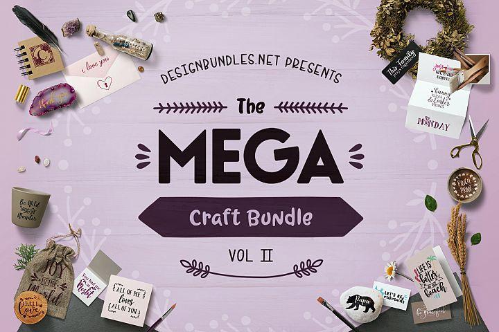 The Mega Craft Bundle II Cover