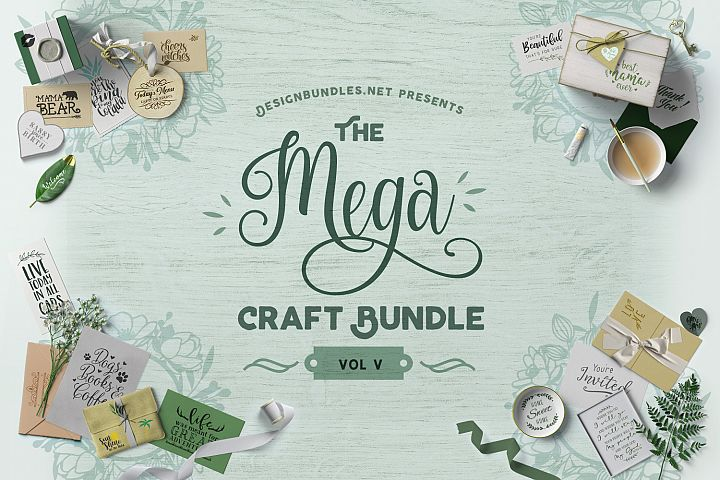 The Mega Craft Bundle V Cover
