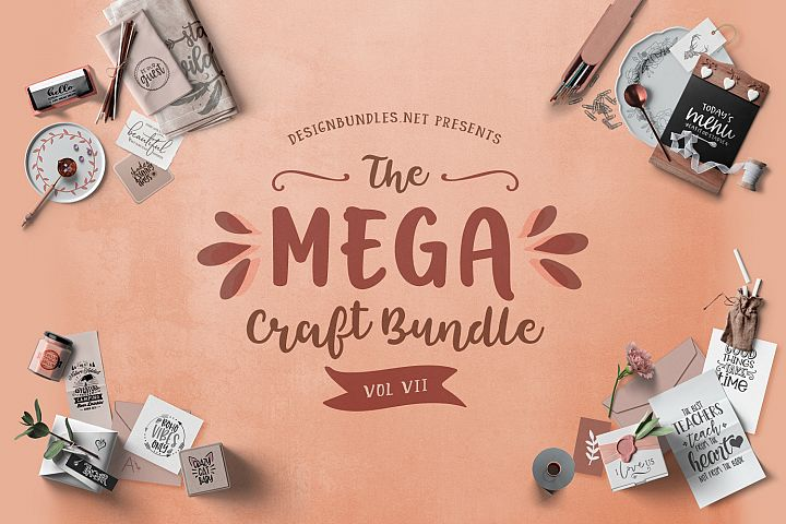 The Mega Craft Bundle VII Cover