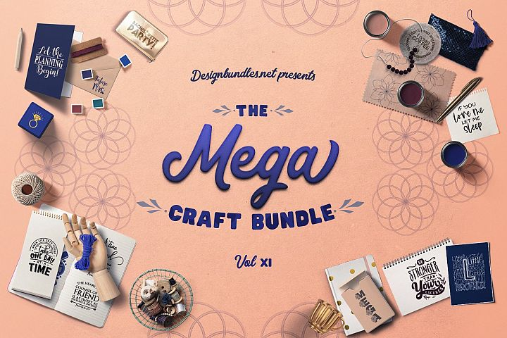 The Mega Craft Bundle XI