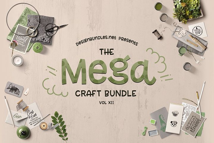 The Mega Craft Bundle XII