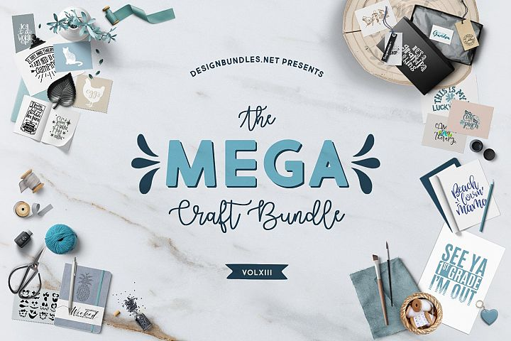 The Mega Craft Bundle XIII