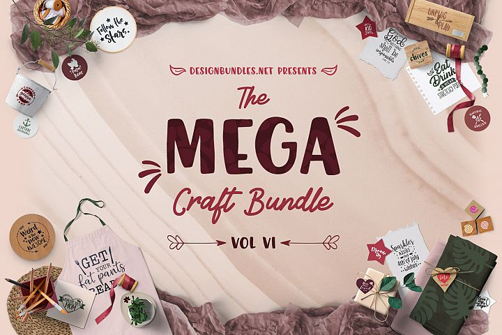 The Mega Craft Bundle VI Cover