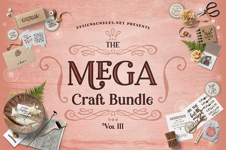 The Mega Craft Bundle III