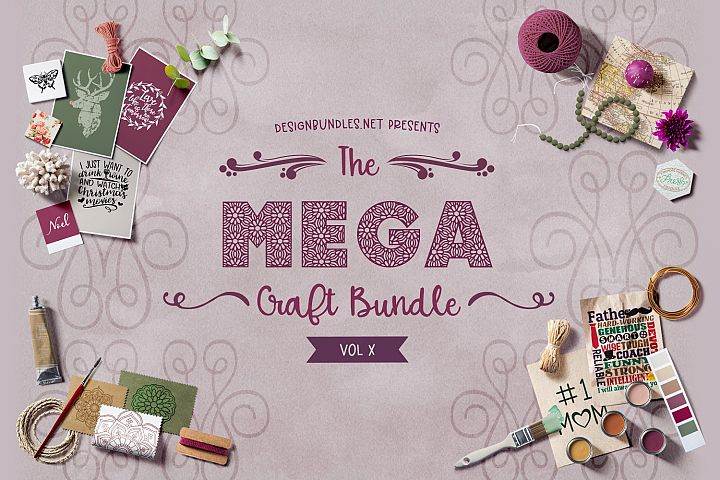 The Mega Craft Bundle X