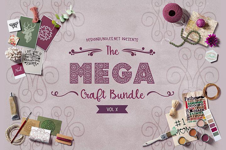 The Mega Craft Bundle X Cover