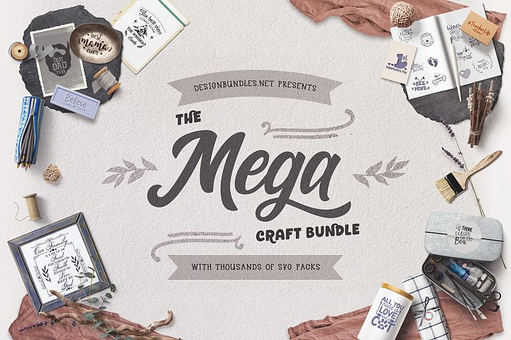 The Mega Craft Bundle  Cover