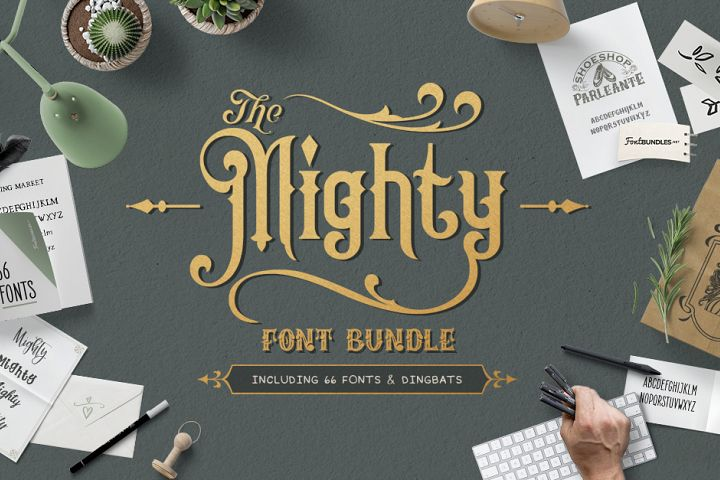 7651+ The Free Font Bundle Gratis File by Designbunle