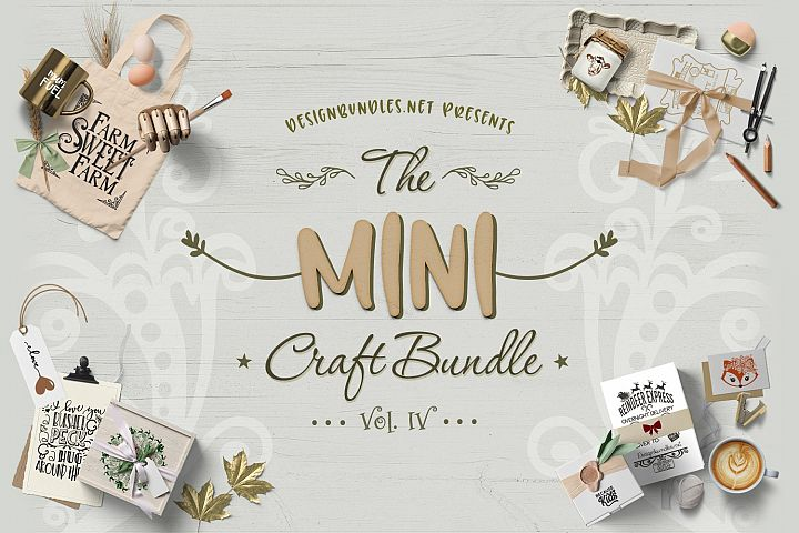 The Mini Craft Bundle IV