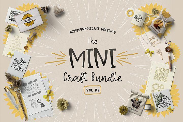 The Mini Craft Bundle III