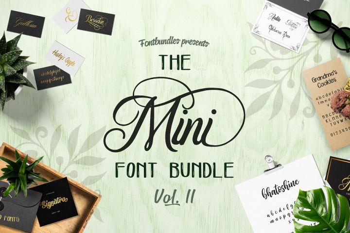 The Mini Font Bundle Volume II Free Download