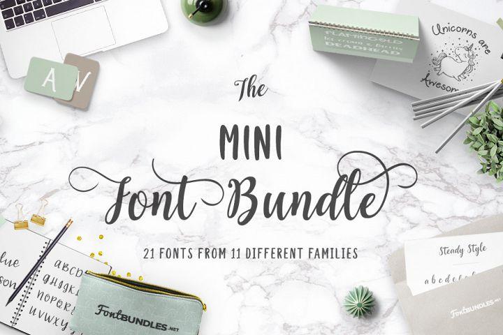 The Mini Font Bundle Free Download
