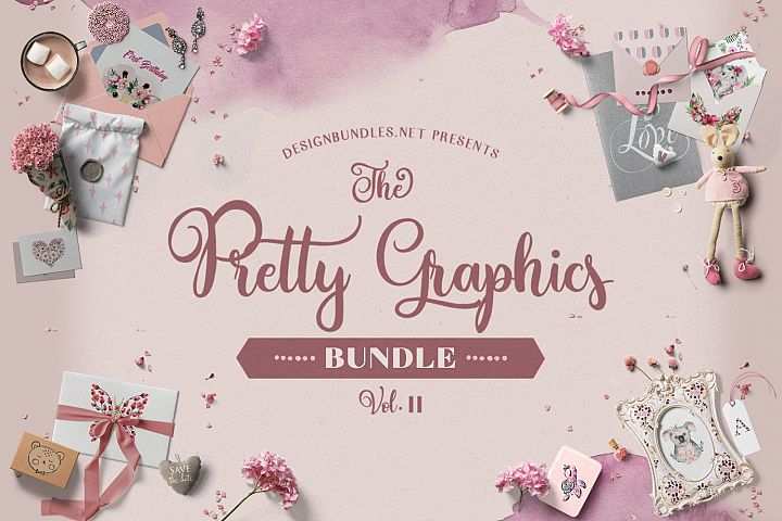 The Pretty Graphics Bundle II Cover