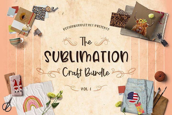 The Sublimation Craft Bundle Vol 1