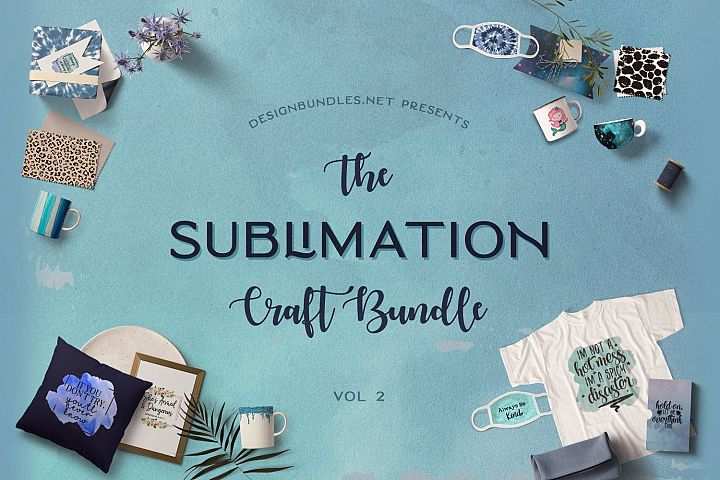 The Sublimation Craft Bundle Volume 2