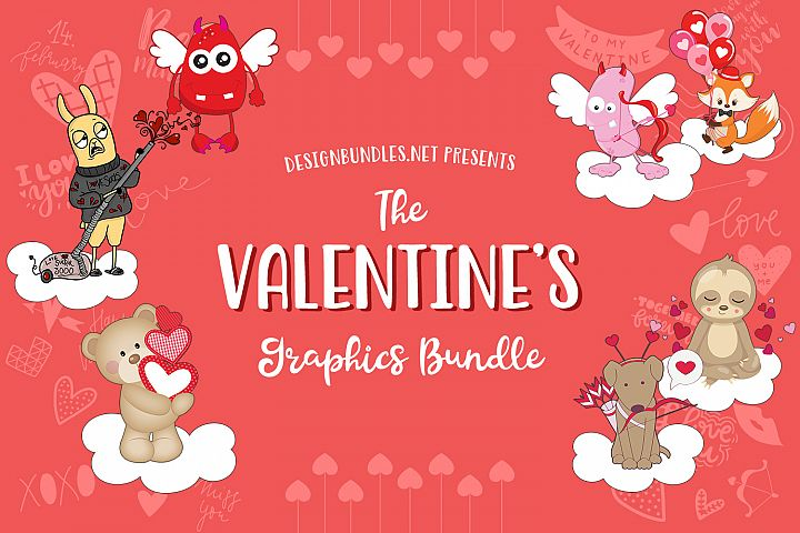 The Valentines Graphics Bundle