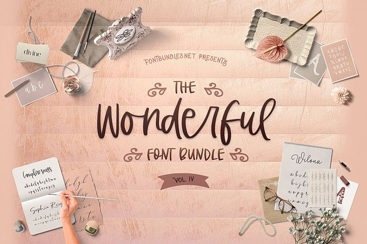 The Wonderful Font Bundle IV