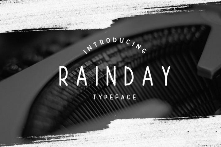 Rainday Typeface Font - Free Font of The Week Font