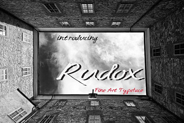 RUDOX pencil handwriting