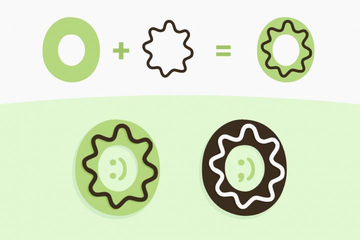 Sweety Donut - Fun Typo example 2