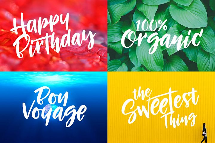 Morning Sunset - Free Font of The Week Design3
