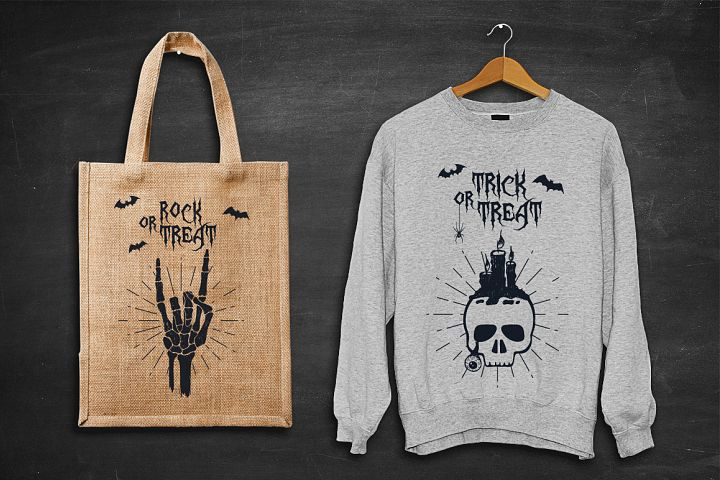 Halloween. 50 Hand Drawn Objects - Free Design of The Week Design 6