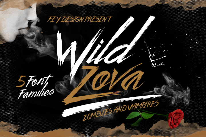 Wild Zova Family - Free Font of The Week Font