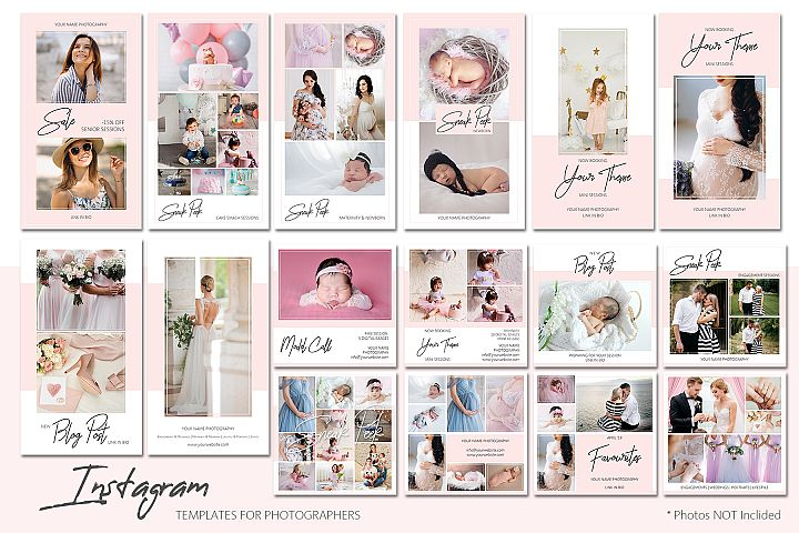 Instagram Templates Bundle