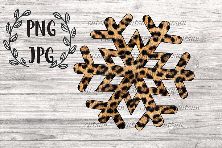 Snowflake Leopard PNG | Snowflake Cheetah PNG