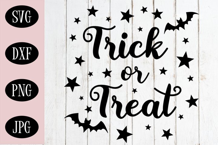 Trick or Treat SVG   Halloween Cutting File