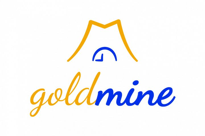 Gold mine logo template