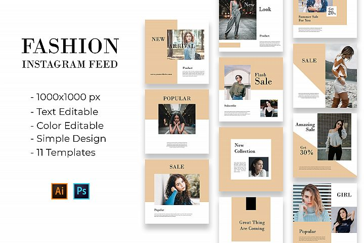 Fashion Instagram Feed Vol. 1