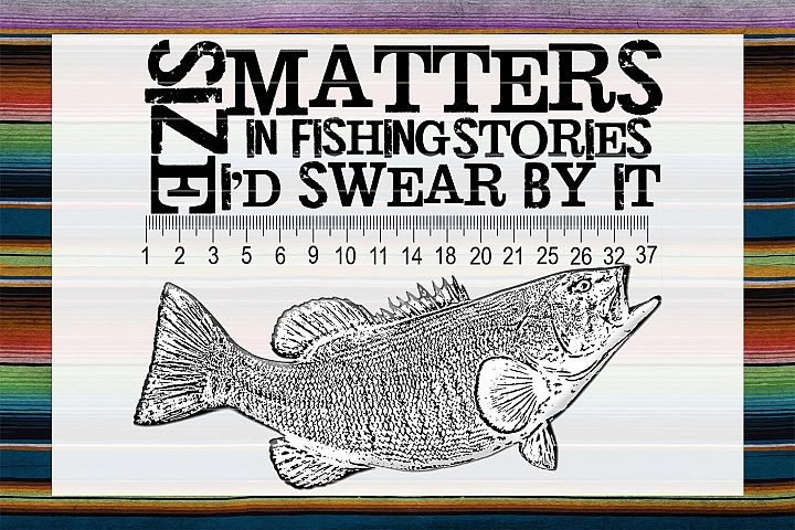 Fishing Stories Sublimation PNG