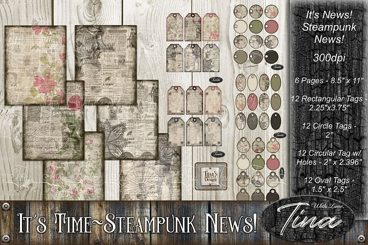 Huge Pack Its News Roses Lace Doily Tags Steampunk