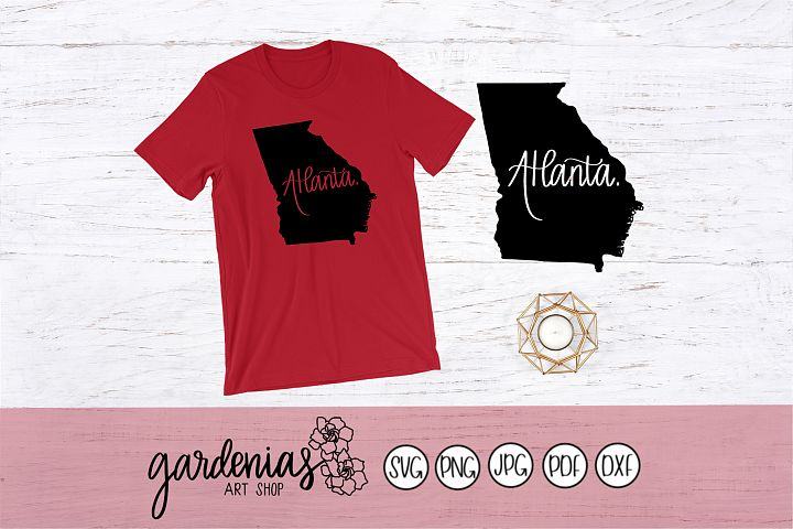 Atlanta Georgia Map