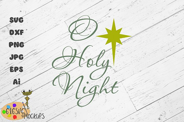 O Holy Night SVG