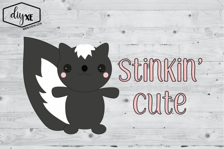 Stinkin Cute - A Valentines Day Sublimation Graphic