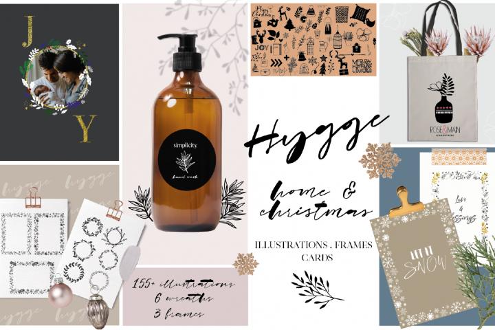 Hygge Home & Christmas Illustrations