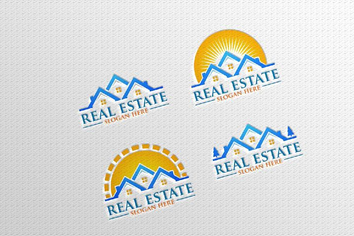 Real estate Vector Logo Design, Building and Home 10