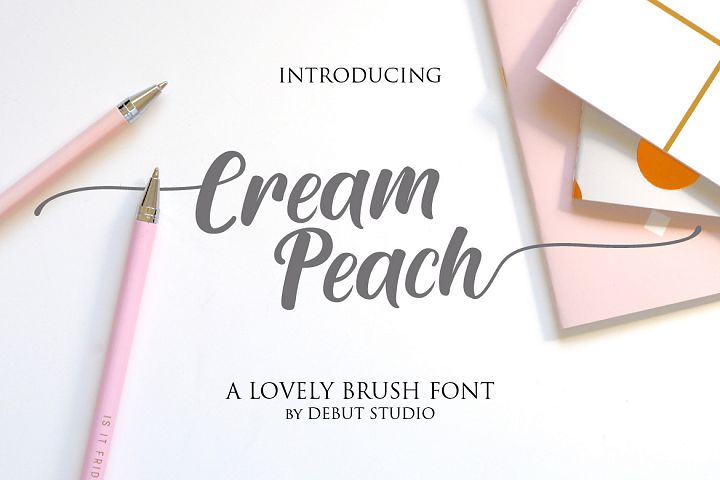 Cream Peach