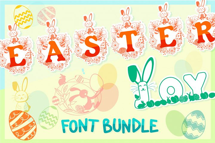 The Easter Joy Font Bundle