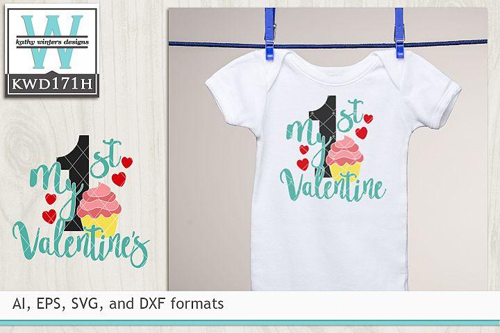 Valentines SVG - 1st Valentines
