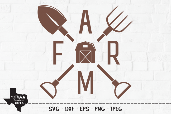 Farm SVG, Cut File, Barn Tools, Farmhouse, Farm Shirt Design