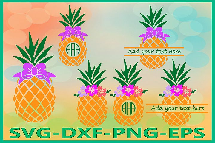 Pineapple Svg, Pineapples Svg, Tropical Svg, Summer svg