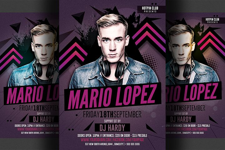 Guest Dj Flyer Template